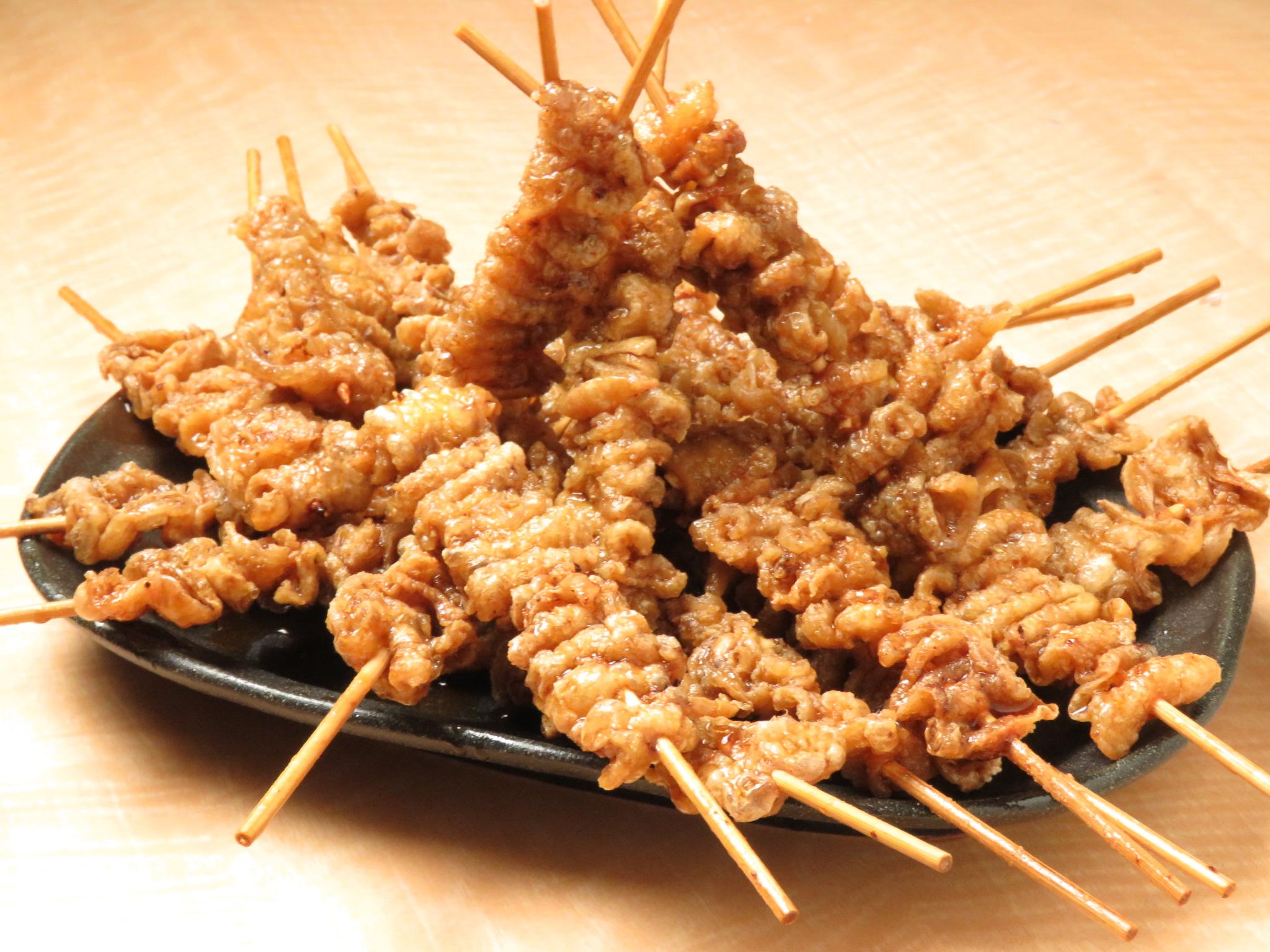 町田の鶏料理専門店[とりいちず]の絶品とり皮