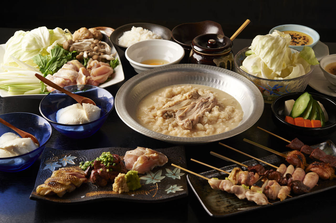 とりいちず 町田中央通りの鶏料理が満喫できるコース